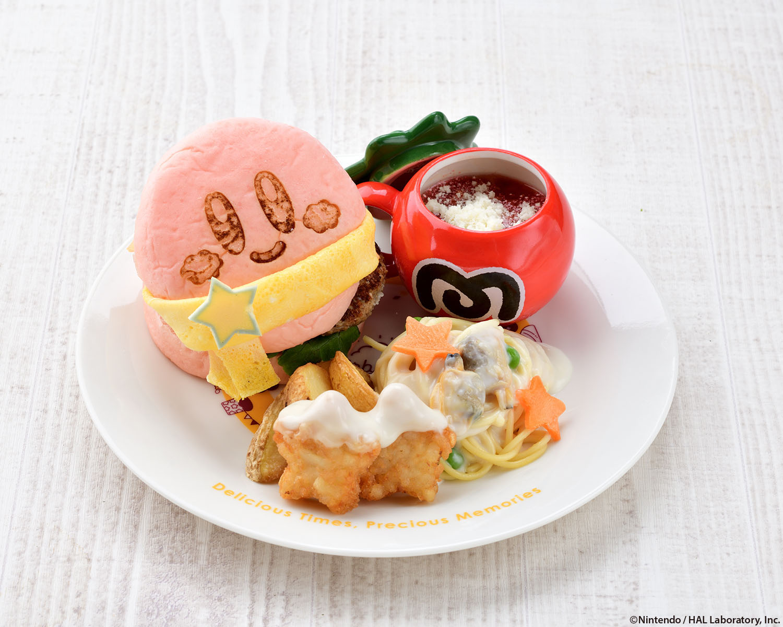 星のカービィの『Kirby Café (カービィカフェ) Kirby Café Winter 2020 星之卡比10