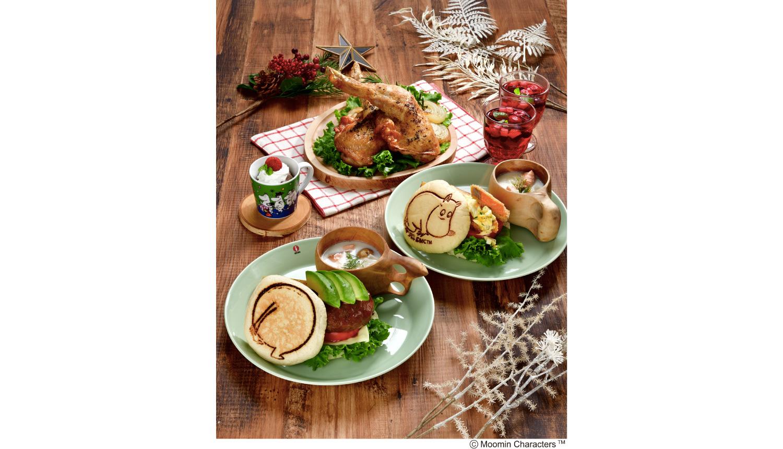 ムーミンカフェ-クリスマスシーズンMoomin-Cafe-Christmas-season嚕嚕米聖誕節