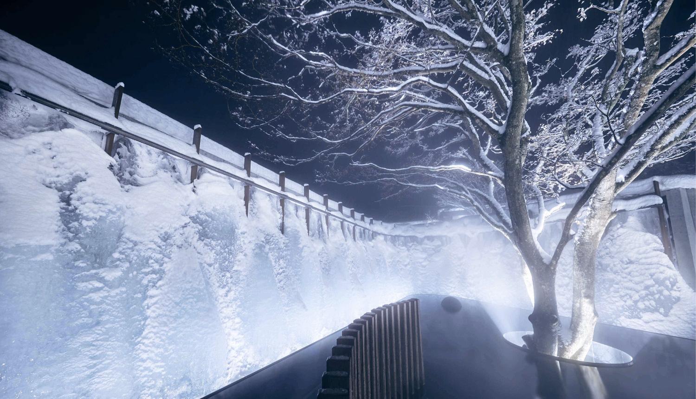 氷瀑の湯-Hoshino-Resorts-星野集團