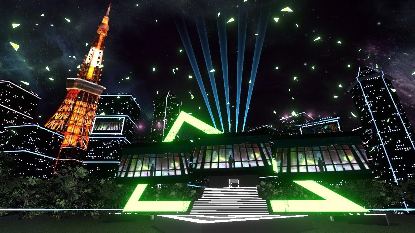 バーチャル東京タワー Virtual Tokyo Tower 2020 東京鐵塔 7
