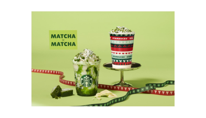 スタバ 抹茶-Starbucks-Matcha