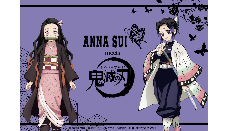 「鬼滅の刃」×「ANNA-SUI」-Demon-Slayer-ANNA-SUI-鬼滅之刃_
