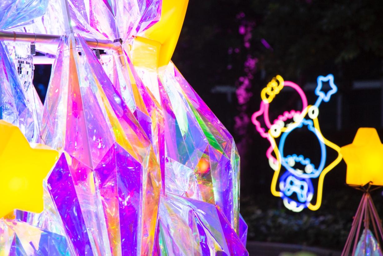 TWINKLE COLOR CHRISTMAS Shinjuku キキララクリスマス新宿 光雕投影5