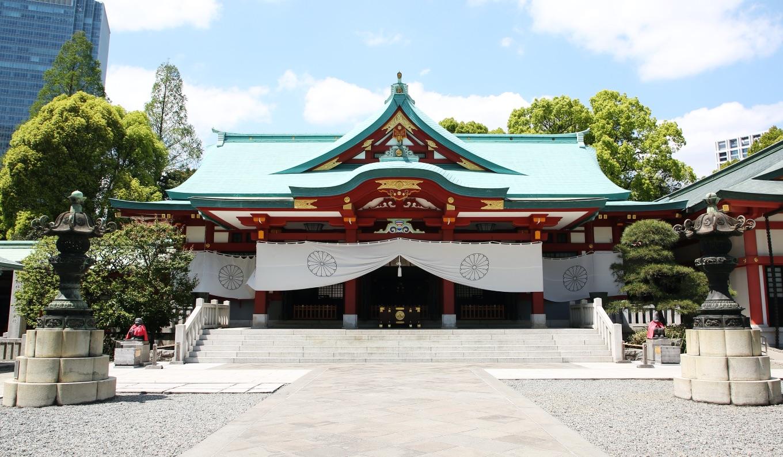 東京都千代田区神社 Chiyoda Ward Shrines 神社在東京