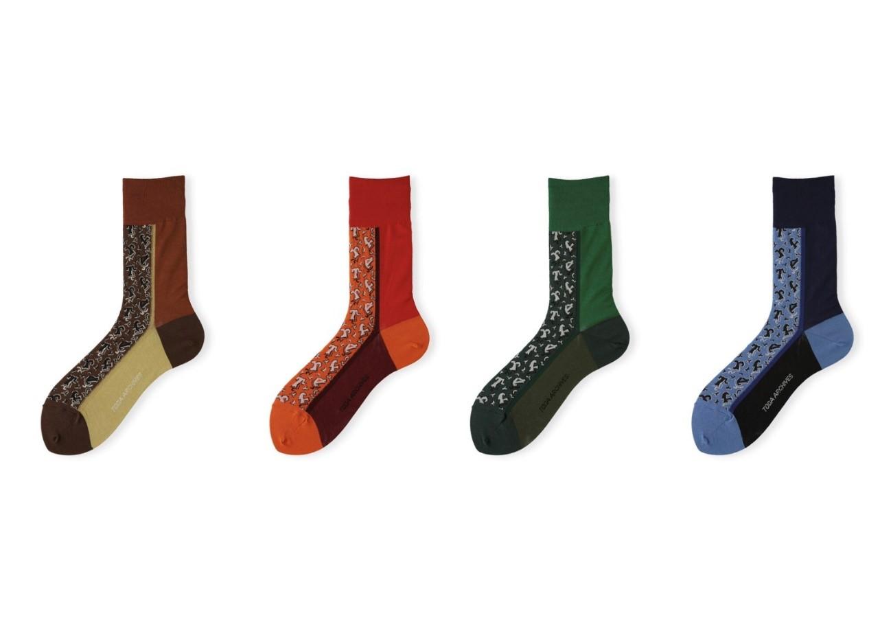 TOGA × Tabio socks 靴下4