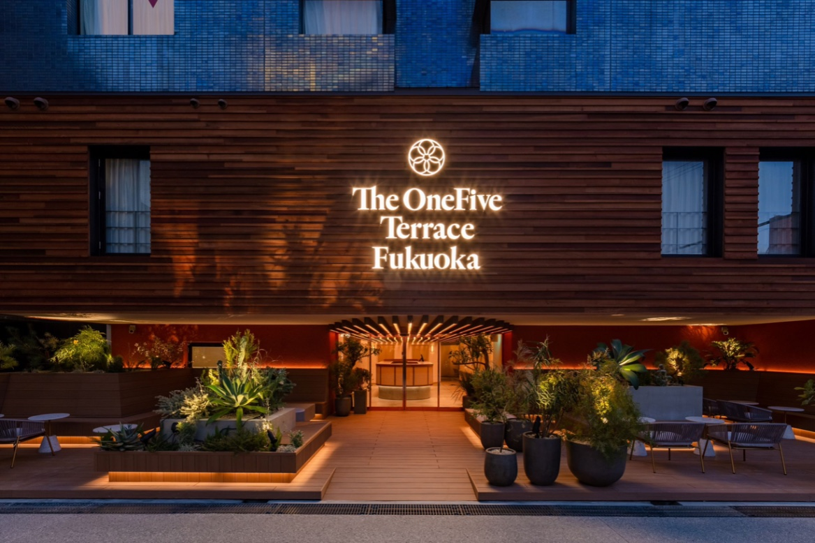 The OneFive Terrace Fukuoka 博多ホテル 日本旅行福岡