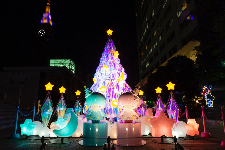 TWINKLE COLOR CHRISTMAS Shinjuku キキララクリスマス新宿 光雕投影
