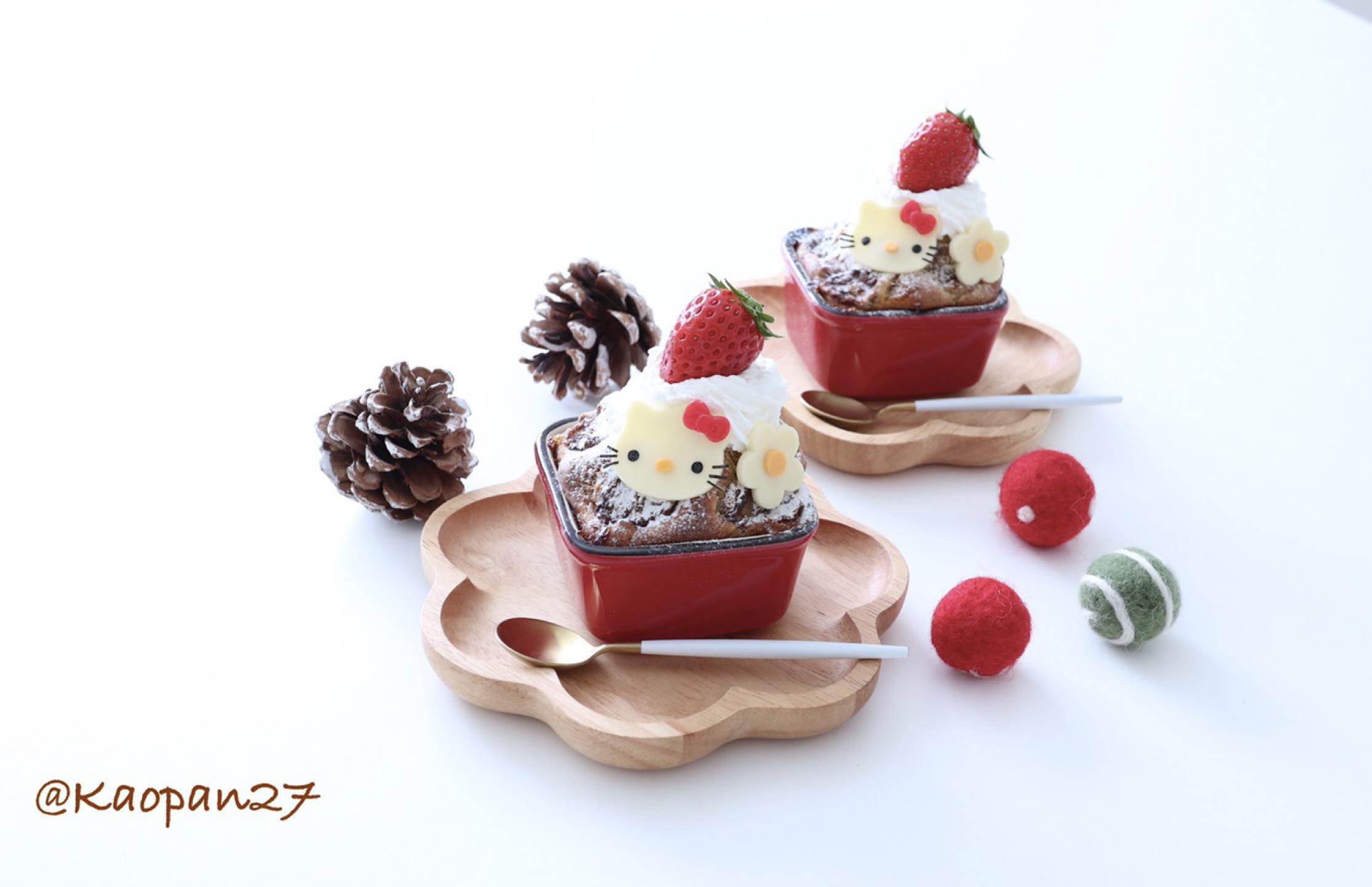 バナナと紅茶マフィン-レシピ-Kaori-dessert-recipe-食譜5
