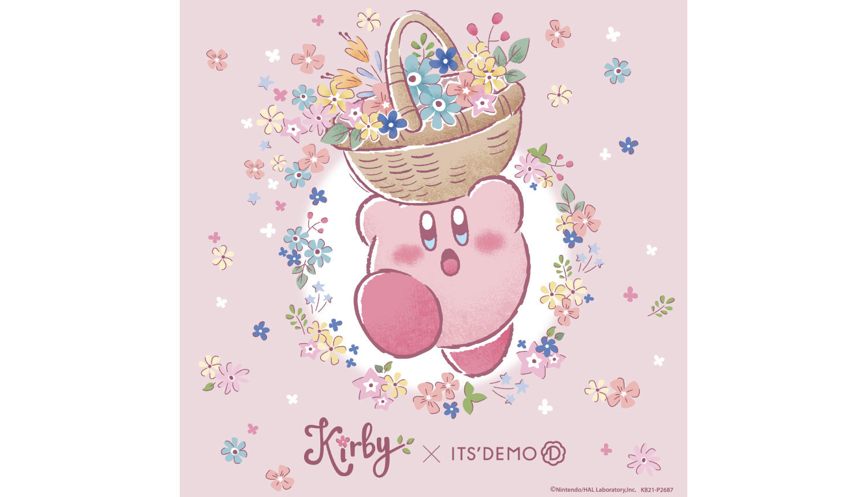 イッツデモ×「星のカービィ」-ITS'DEMO-Kirby-星之卡比_