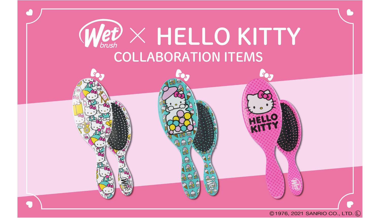 WetBrush®-Hello-Kitty-ハローキティ凱蒂貓_
