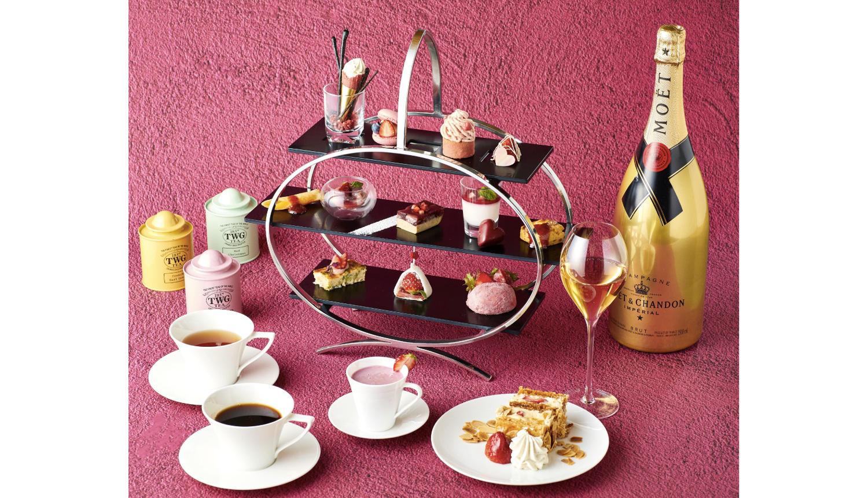 THE-GRAND-GINZA-ピンク色のアフタヌーンティー-Afternoon-tea-下午茶_