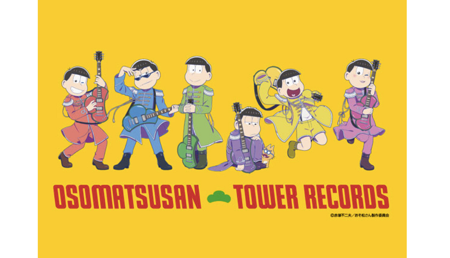「おそ松さん-×-TOWER-RECORDS」Osomatsusan-Tower-Records-小松先生