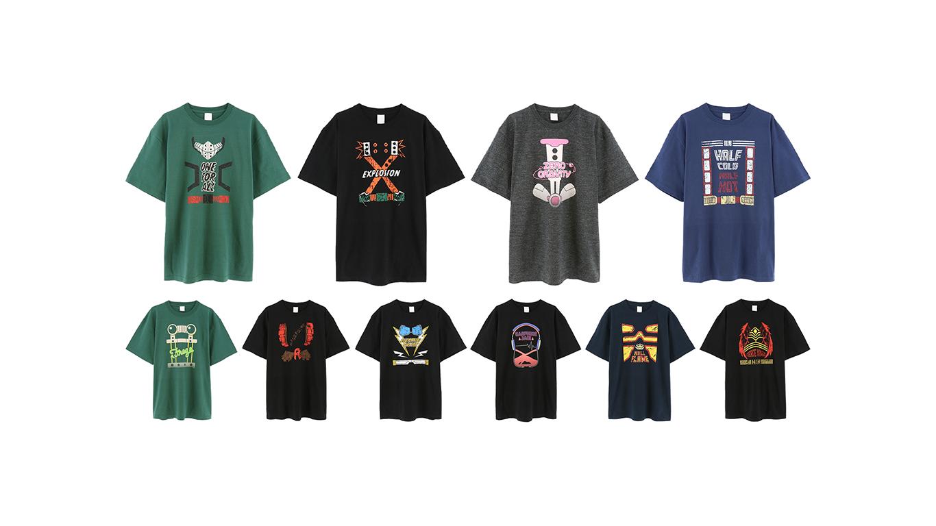 ACOS(アコス)より「僕のヒーローアカデミア」オーバーサイズTシャツ販売決定