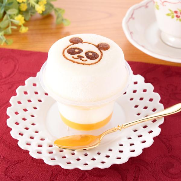 ファミマ東京 スフレ・プリン杏仁&マンゴー Purin 甜點1