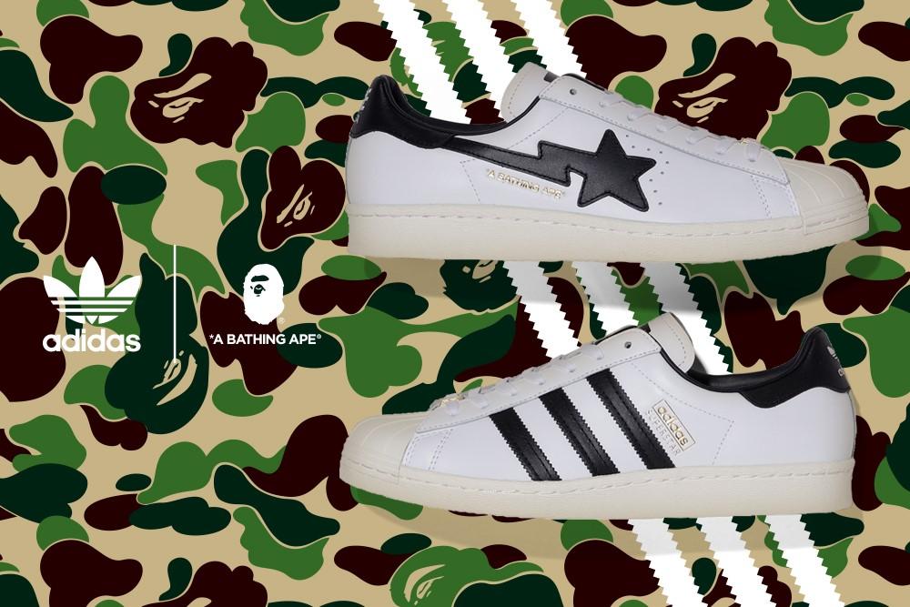 """BAPE® × adidas Originals """"Superstar"""" (2)"""