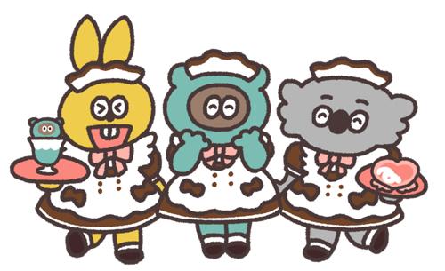 メイドカフェ「あっとほぉーむカフェ」 ×「たぬきゅんフレンズ」 (4)