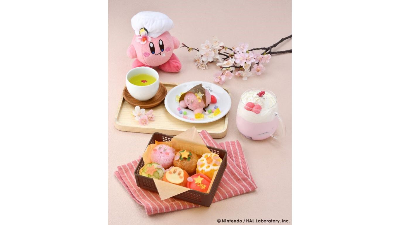 Kirby Café 「春のまんまるピクニック」