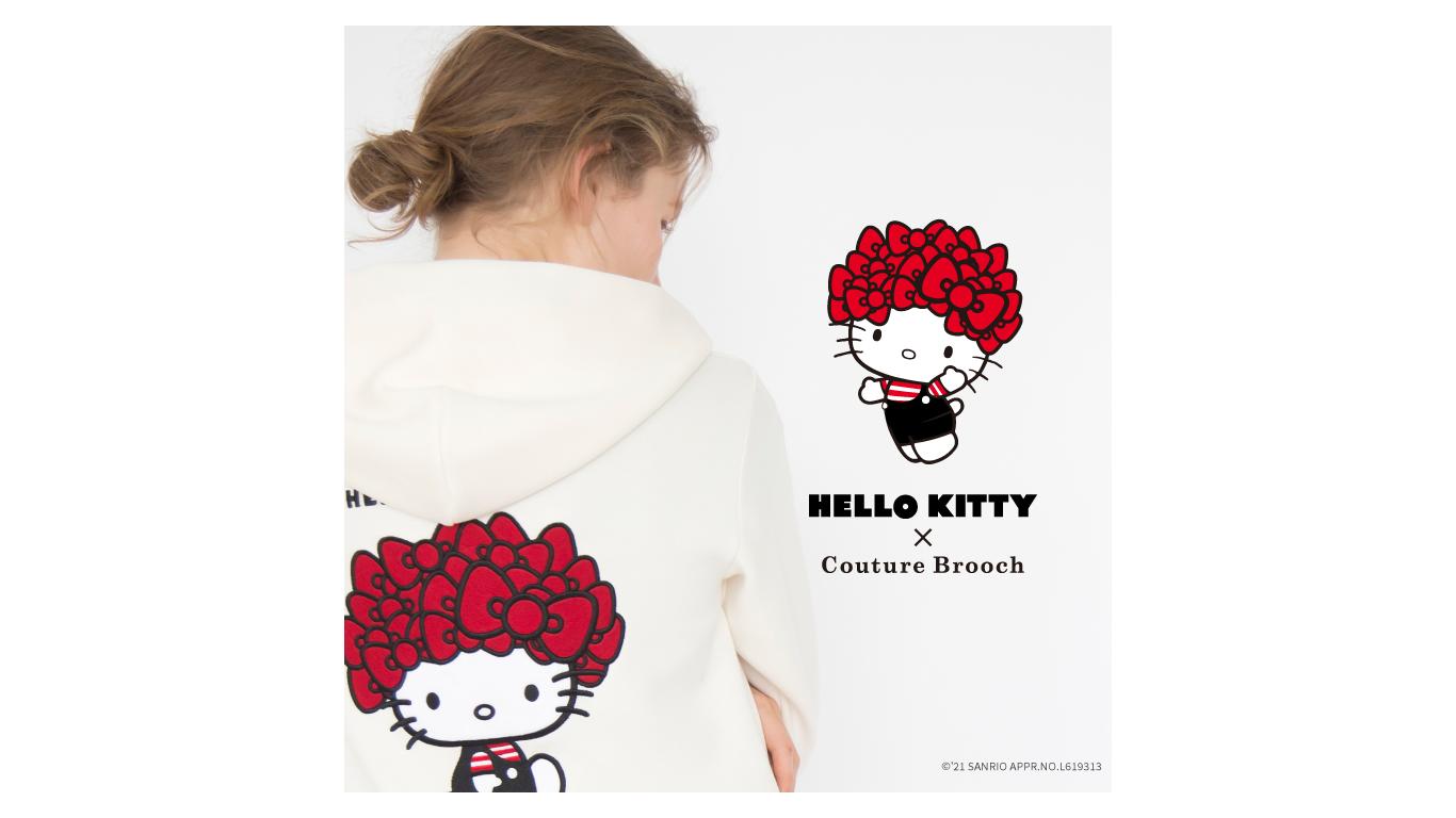 「クチュール ブローチ」HelloKity (2)