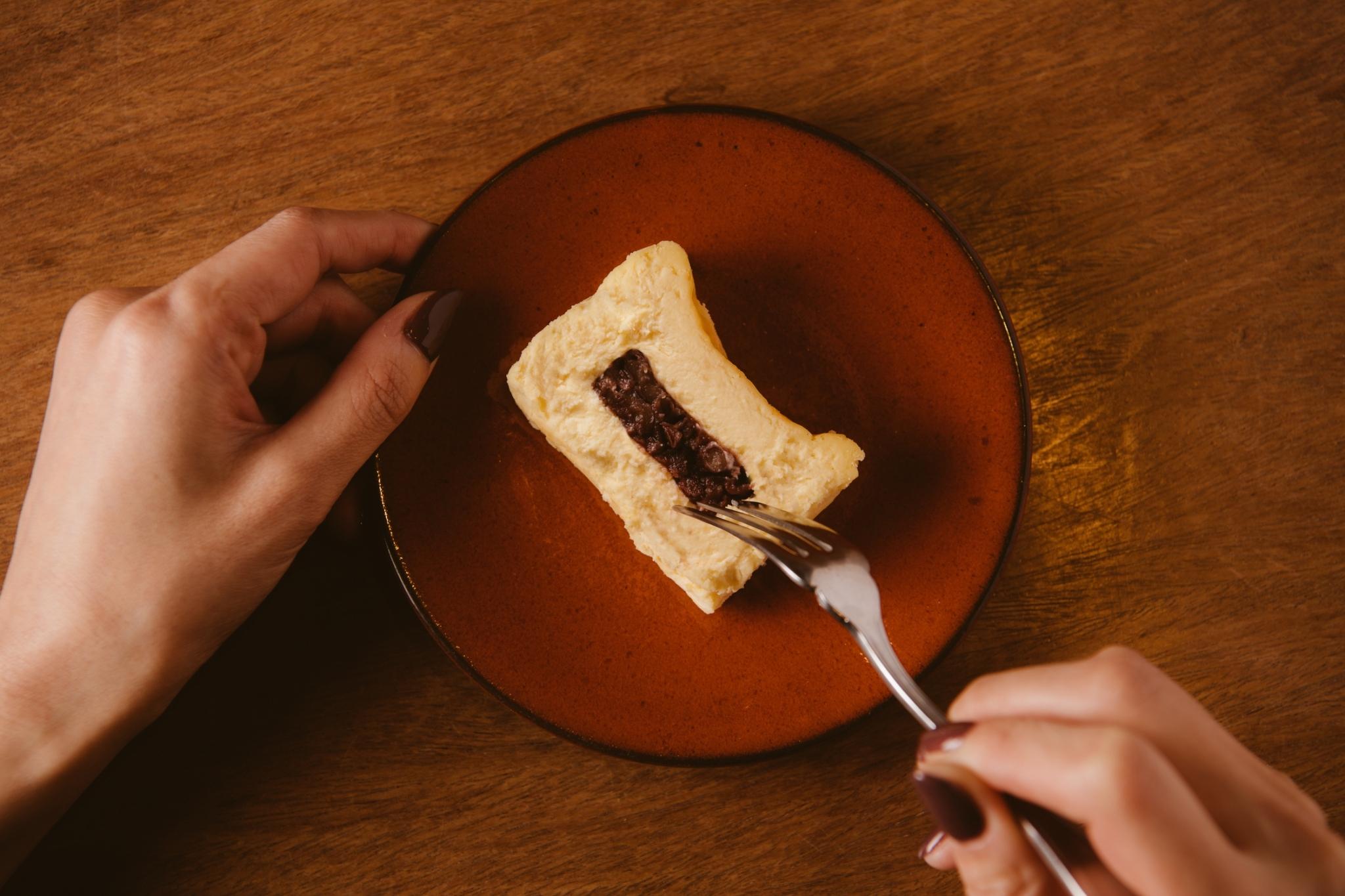 あんこチーズケーキ_4