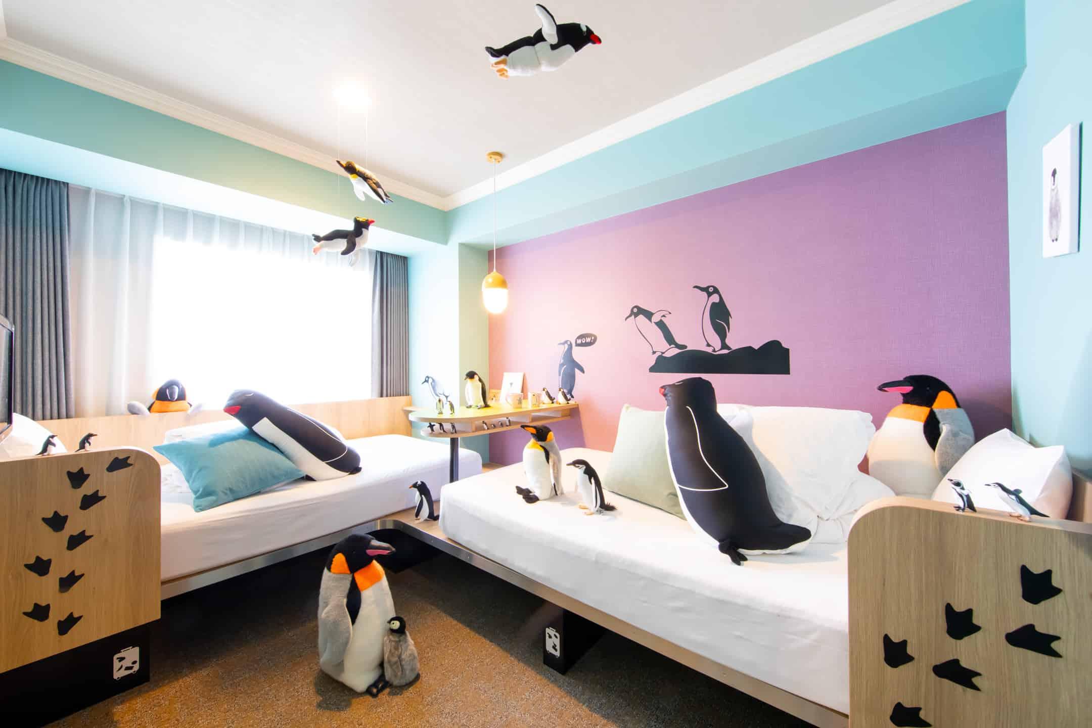 「星野リゾート OMO7(おもせぶん)旭川」「ペンギンルーム」  (4)