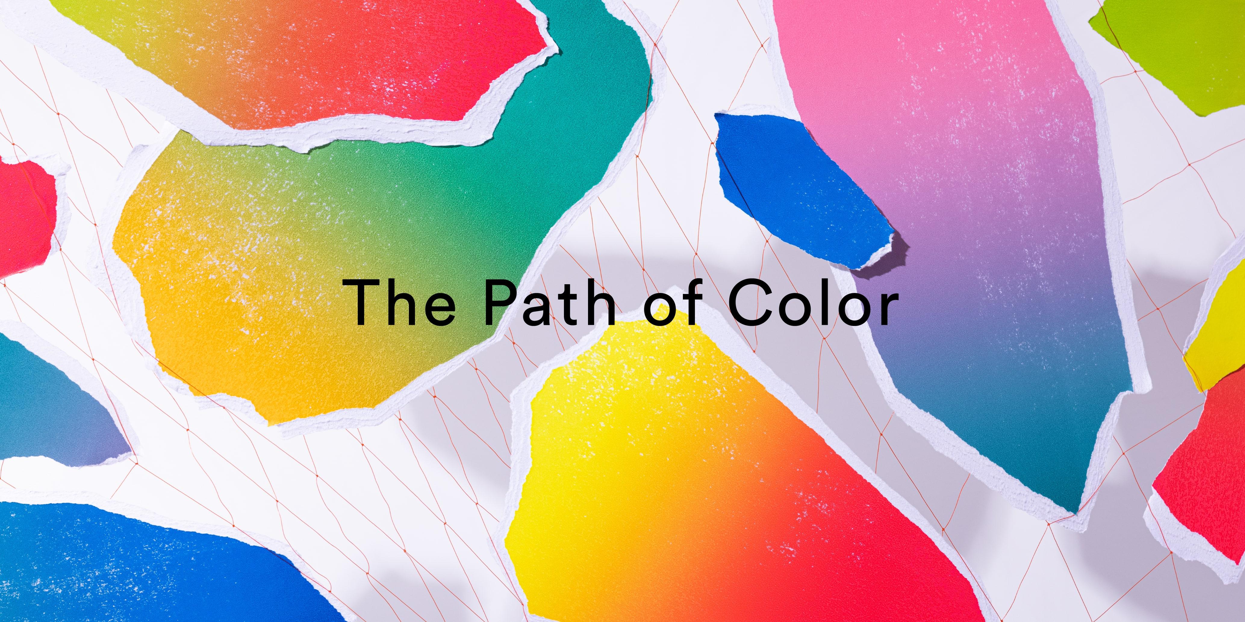 クリエイティブ・ユニット SPREADとコラボレーションした空間インスタレーション『The Path of Color』 (2)