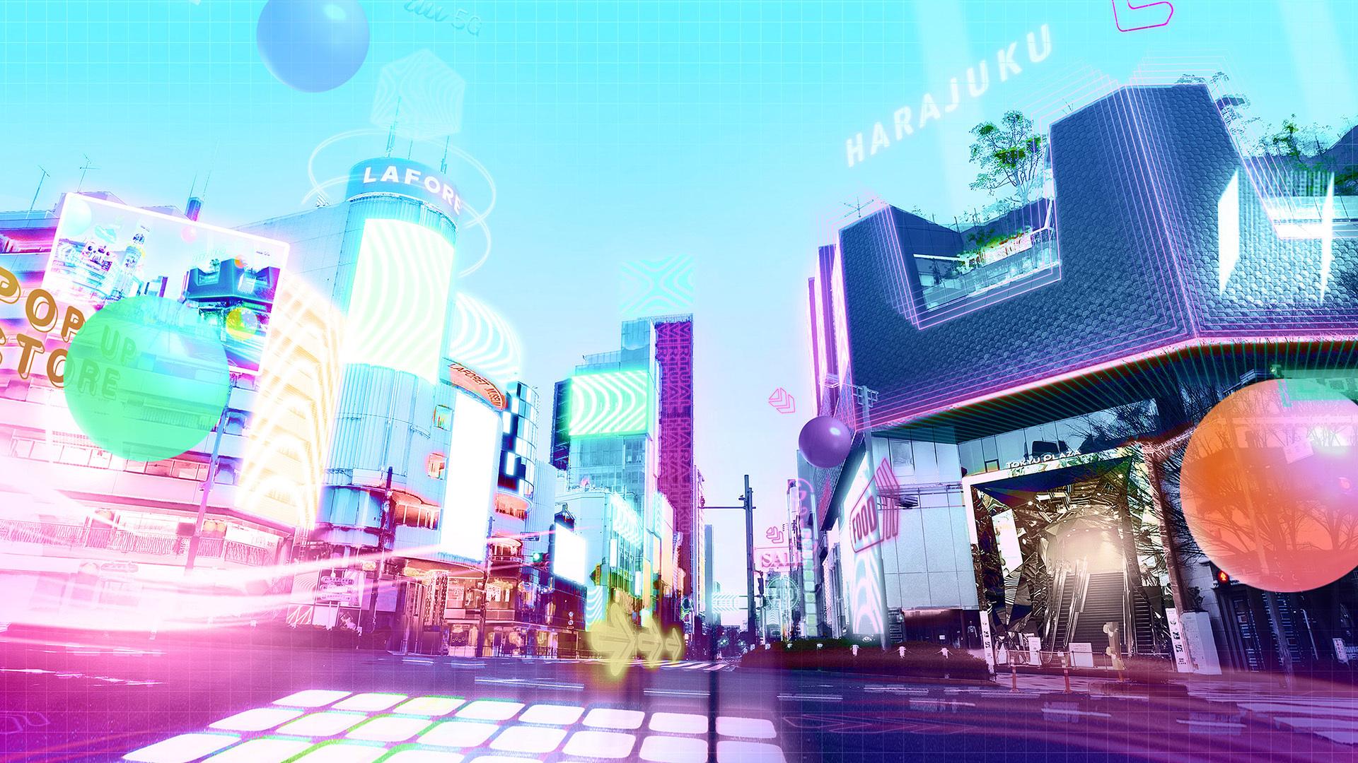 バーチャル原宿 au 5G POP DAY OUT 2021