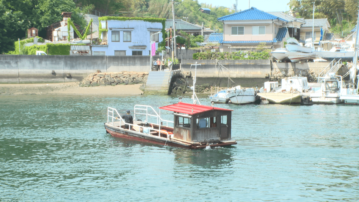 愛媛県松山市・三津浜地区