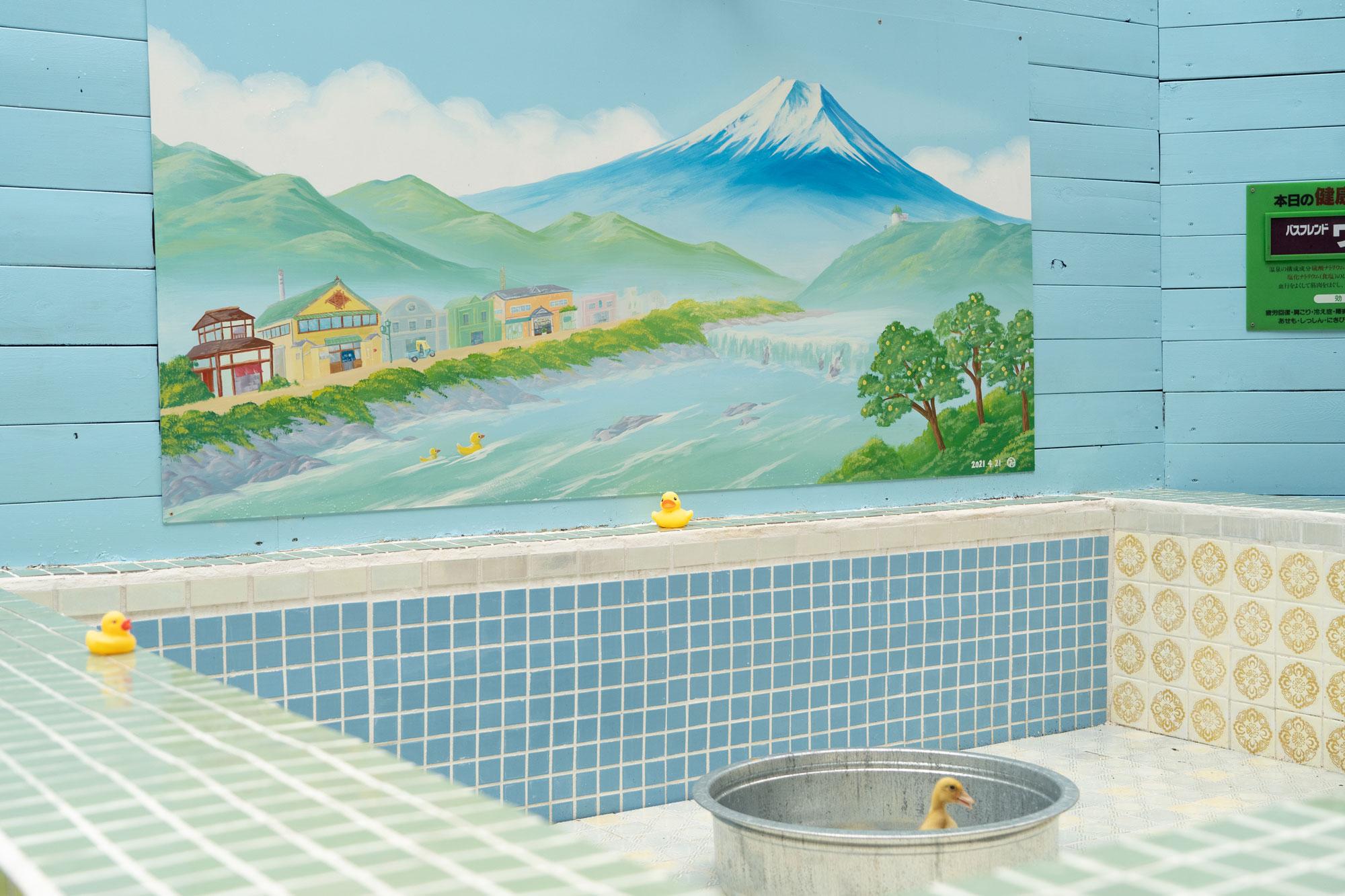 玉川温泉「リアルアヒル風呂」 (2)