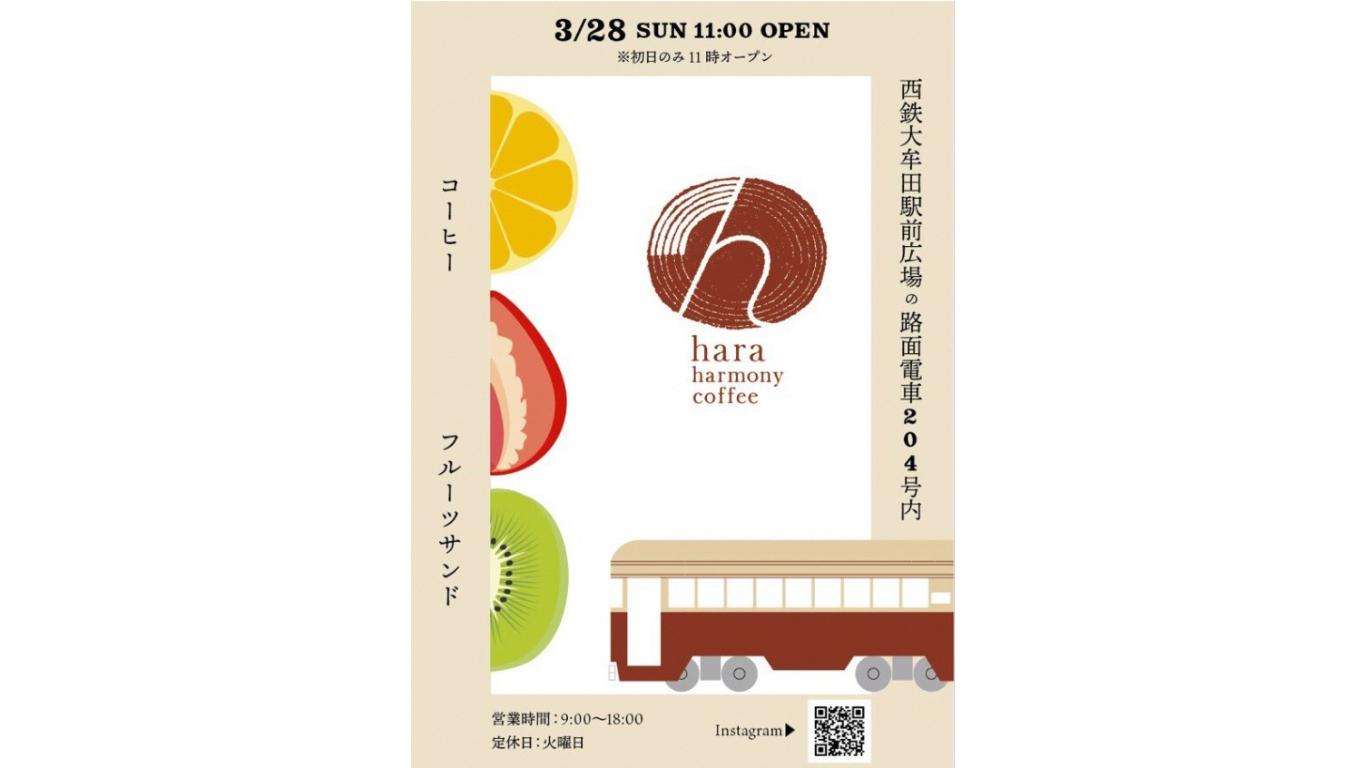 hara harmony coffee