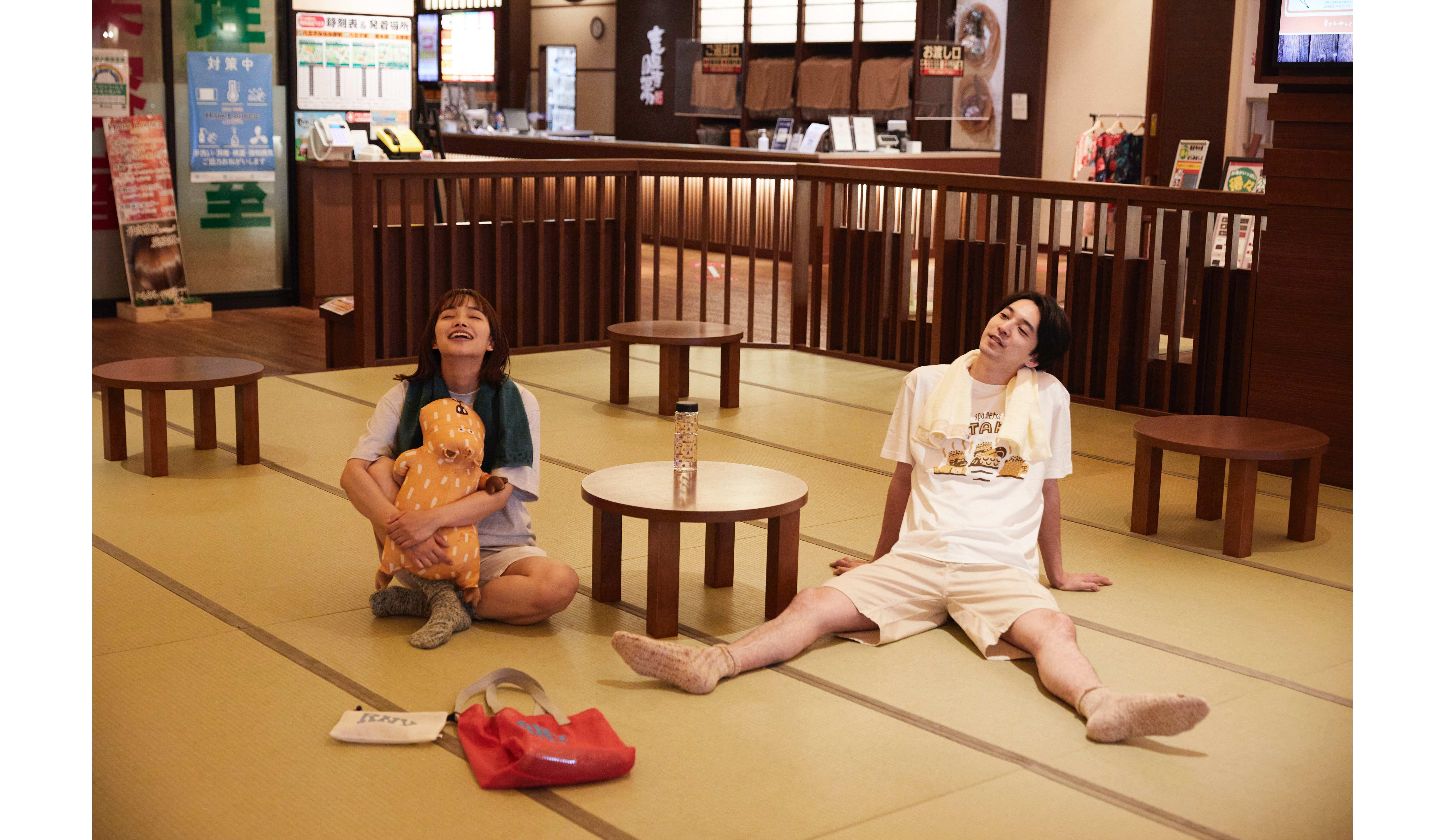 ビームス×スーパー銭湯「竜泉寺の湯」1