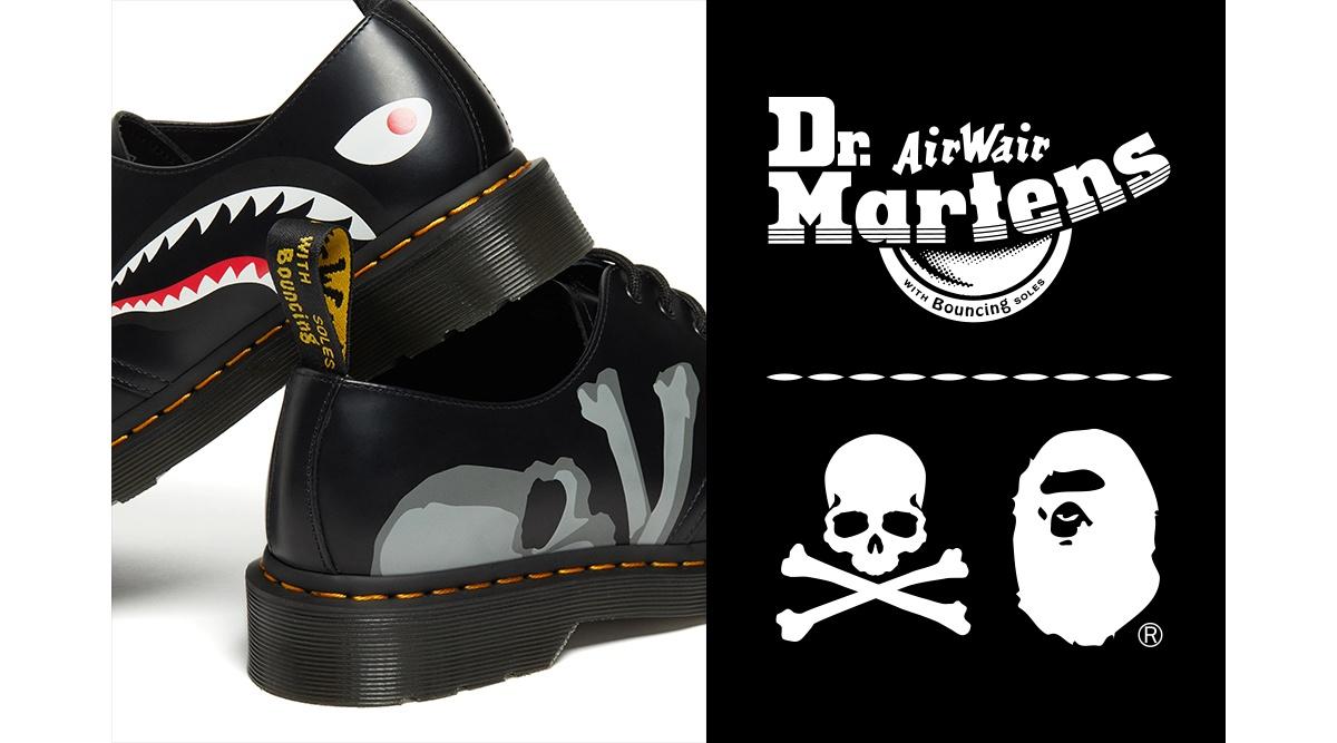 Dr. MARTENS×A BATHING APE® ×master mind JAPAN1