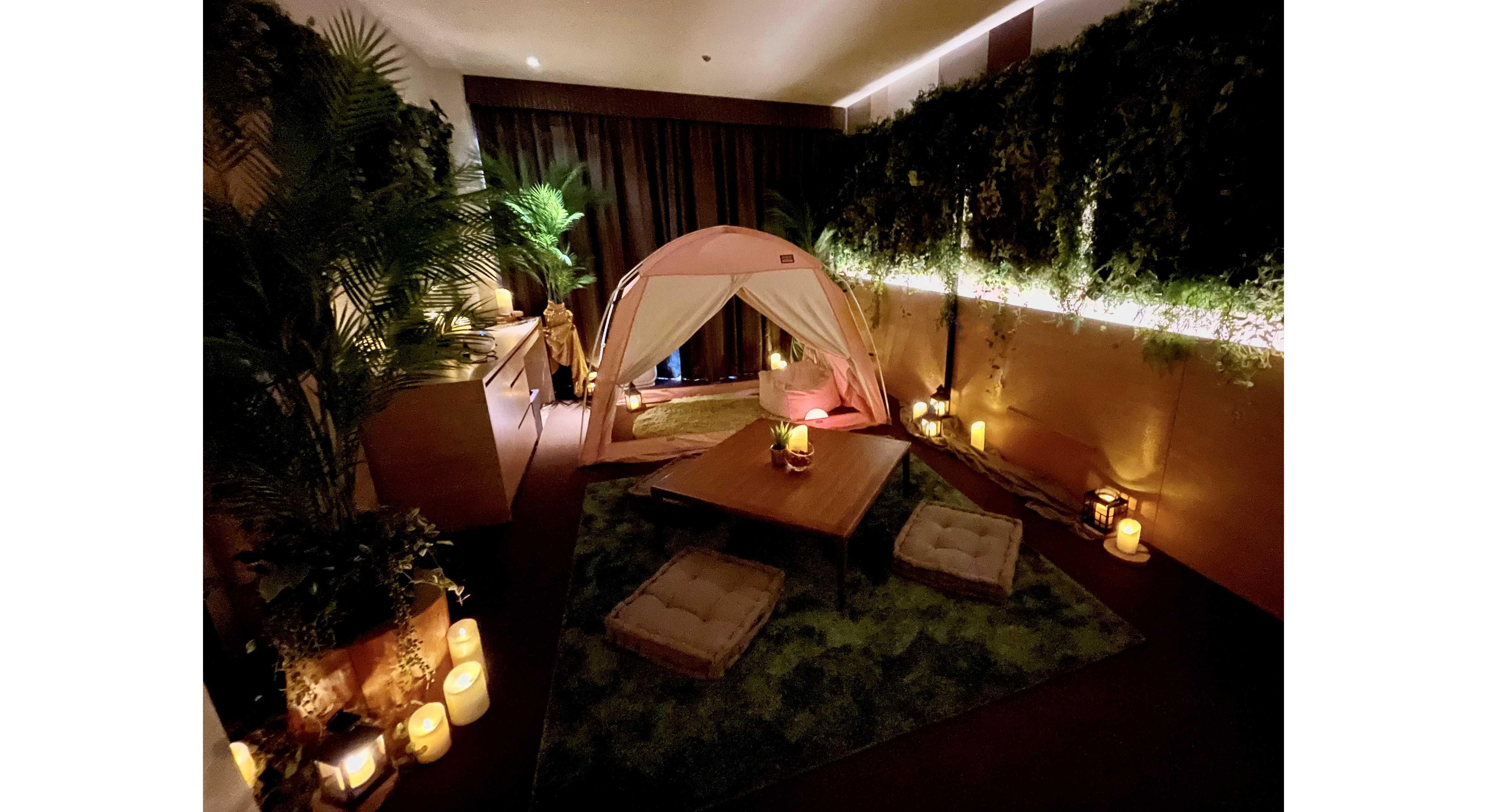 セガトイズ×リーガロイヤルホテル京都「ホテルで星空グランピング」1