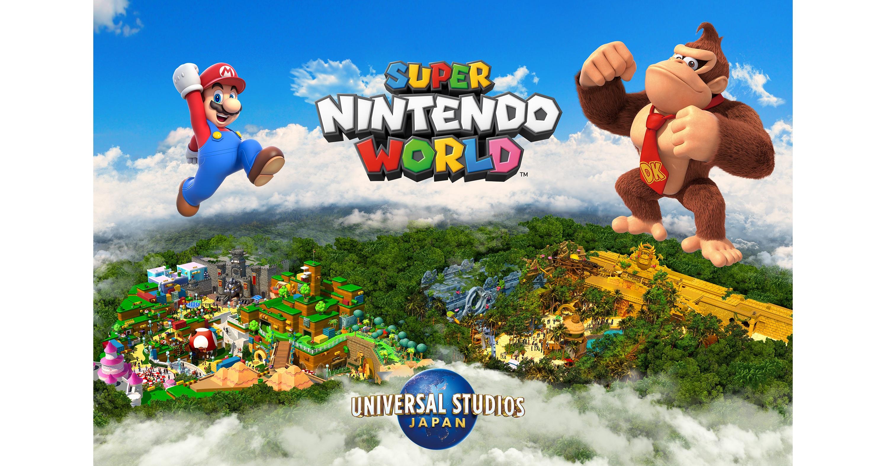 「スーパー・ニンテンドー・ワールド」Universal Studio Japan1