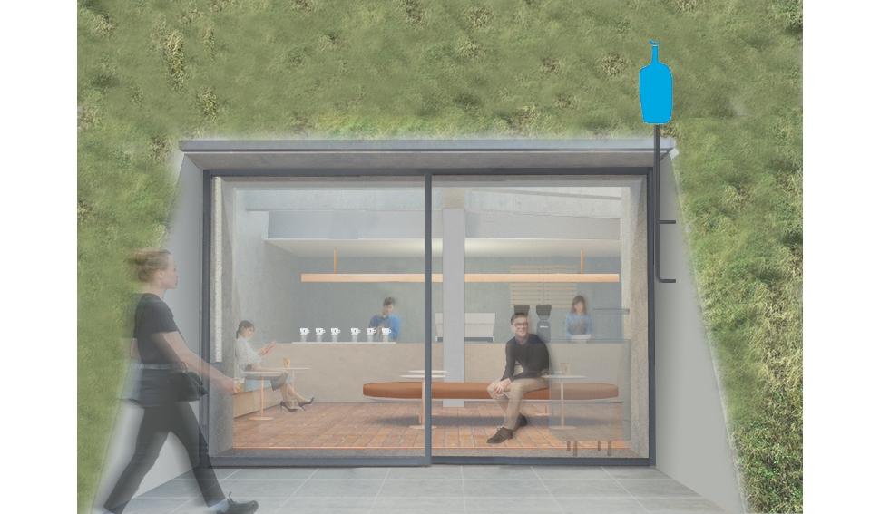 「ブルーボトルコーヒー 白井屋カフェ」4