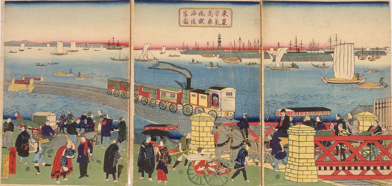 【江戸東京博物館】企画展「ひきつがれる都市の記憶-江戸東京3万年史」開催1