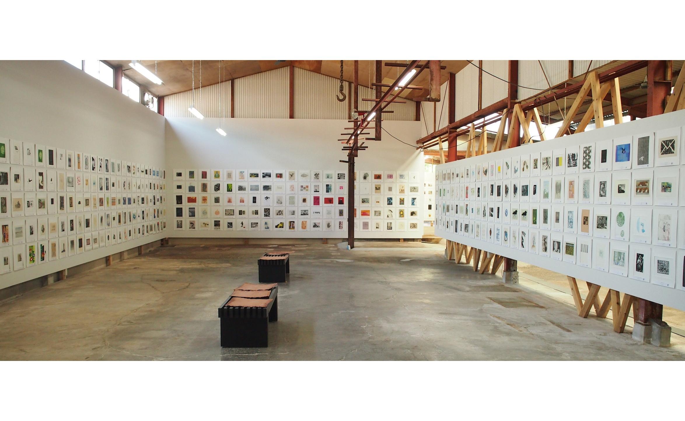 国際版画展 「アワガミ国際ミニプリント展2021」1