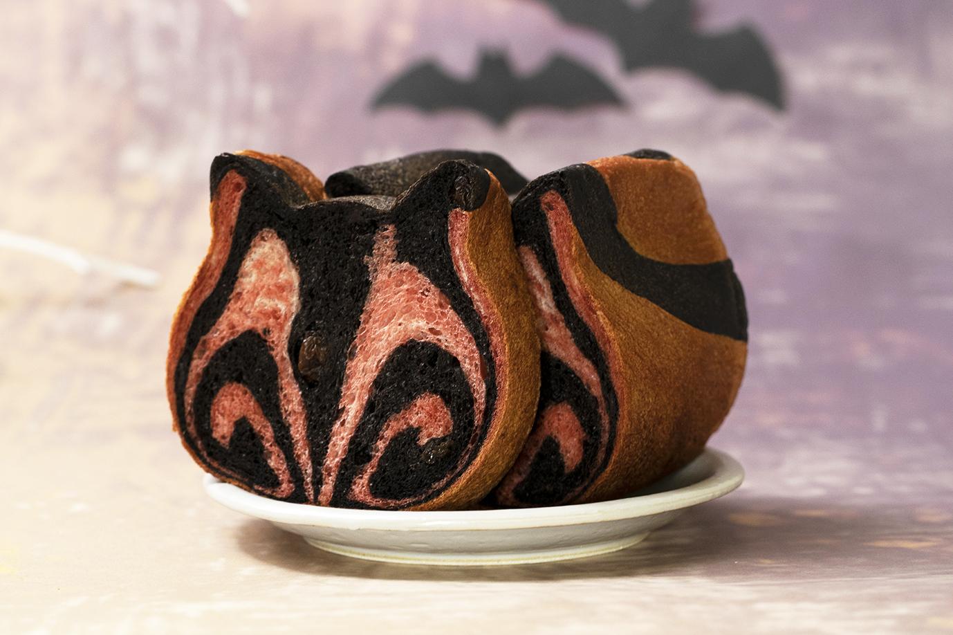 ねこねこ食パン ダークハロウィン1
